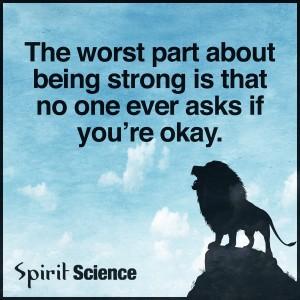 być silnym